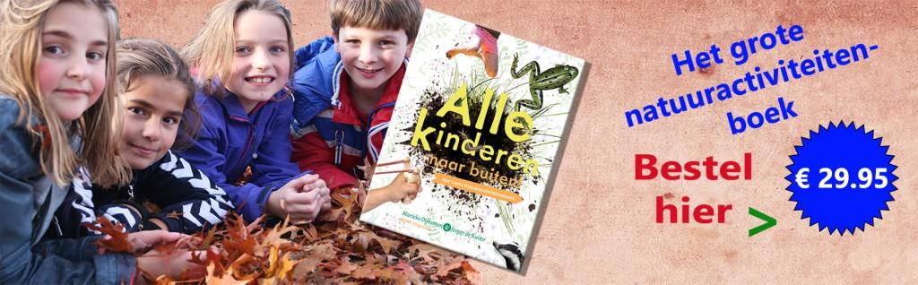 Advertentie- Boek alle kinderen naar buiten-header website